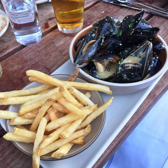 Mussels And Fries @ Hog Island Oyster Co.