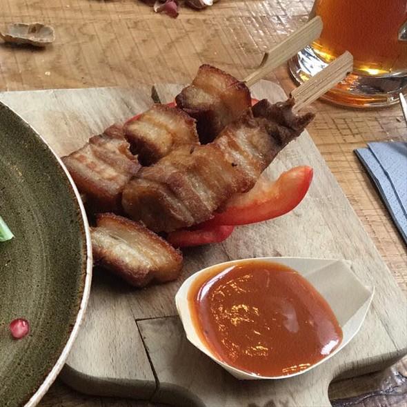 Crispy Pork Belly @ Bierfabriek Amsterdam
