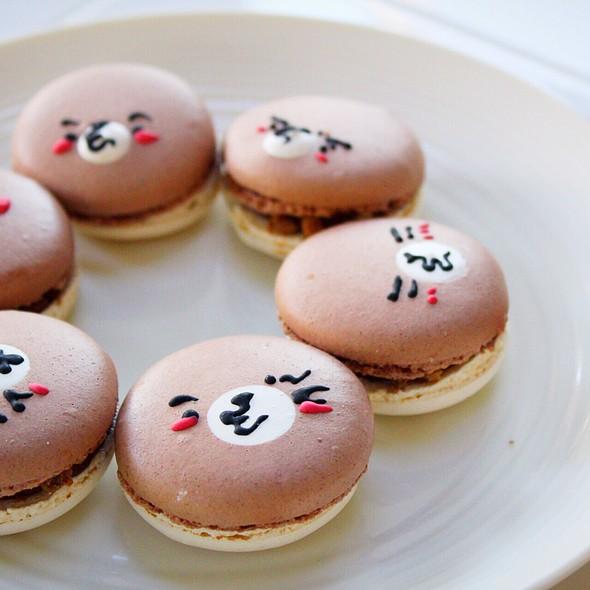 Kawaii Bear Macarons