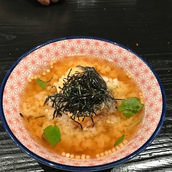 Salmon Ochazuke @ Sushi Izakaya Shinn