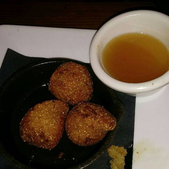 Hush Puppies And Honey Butter