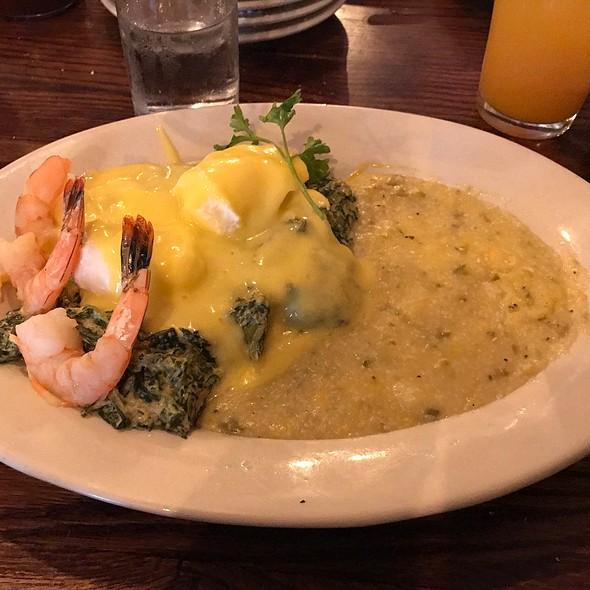 Eggs Sardou @ Lucile's Creole Cafe