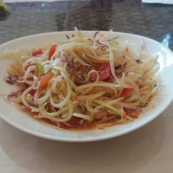 Papaya Salad @ Bangkok Thai
