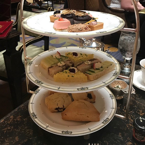 High Tea Scones, Sandwiches & Pastries @ Afternoon Tea @ The Brown Palace Hotel