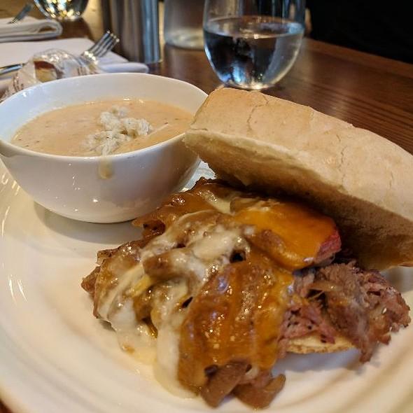 Prime Rib Sandwich & She Crab Soup