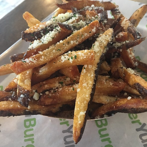 Fries With Parmesan And Garlic