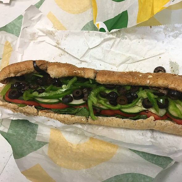 Steak And Cheese Footlong @ Subway