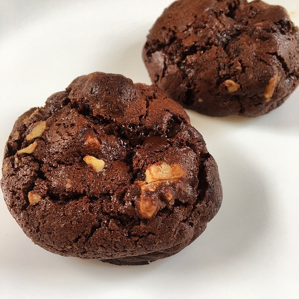 Double-Chocolate Cookies @ HAFH