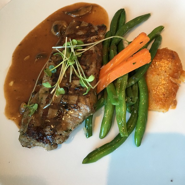 Steak Diane  @ Celebrity Solstice