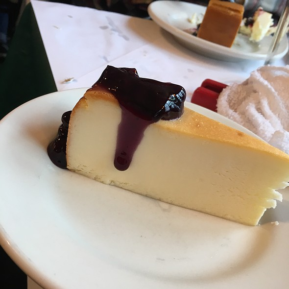 Blueberry Cheesecake @ Georges Inlet Lodge