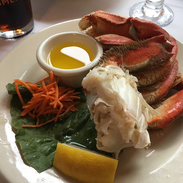 All You Can Eat Dungeness Crab @ Georges Inlet Lodge
