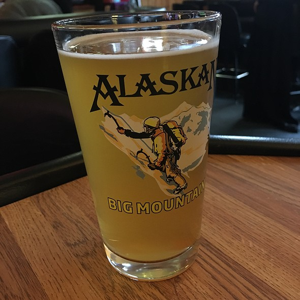 Alaskan Amber Beer @ Georges Inlet Lodge