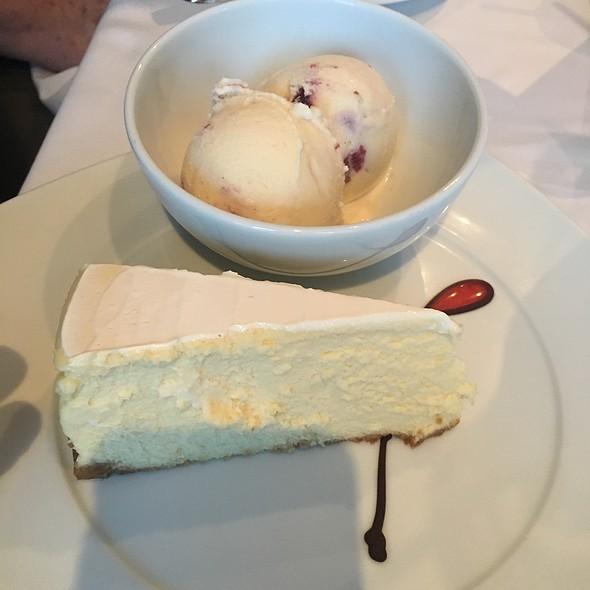 Cheesecake And Cherries Brandy Ice Cream @ Celebrity Solstice