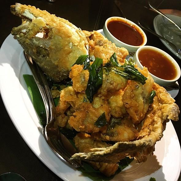 ปลาเก๋า GROUPER @ Patara Fine Thai Cuisine