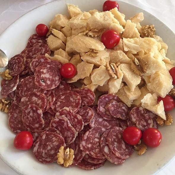 Salami  And Parmesan