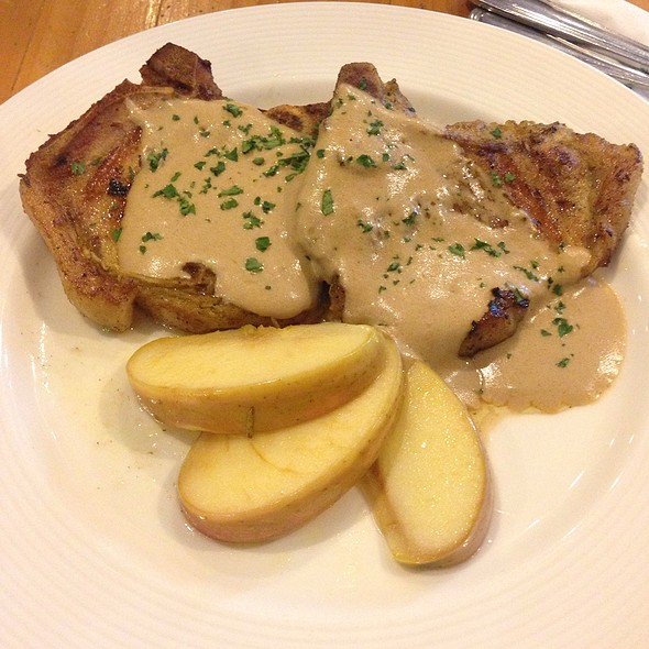 Grilled Porkchops @ Conti's Pastry Shop & Restaurant