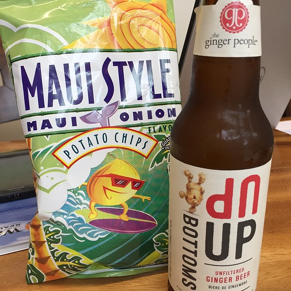 Maui Onion potato chips @ Island Gourmet Markets at The Shops of Wailea