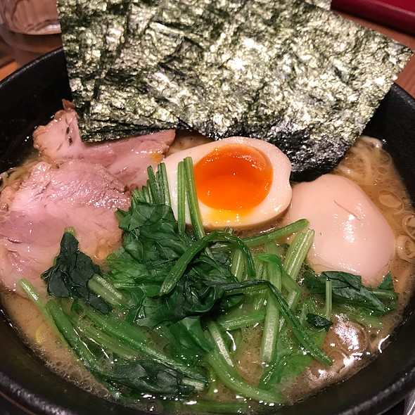 Miso Ramen With Boiled Egg And Spinach