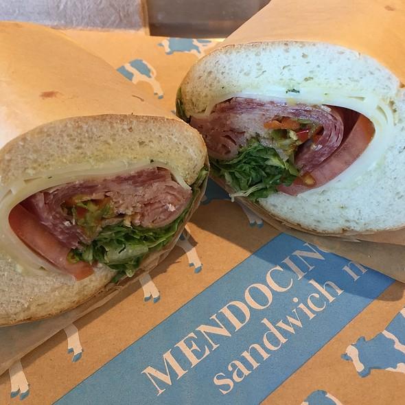 Italian Cold-Cut Sandwich