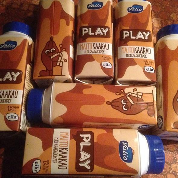 Valio Chocolate Milk