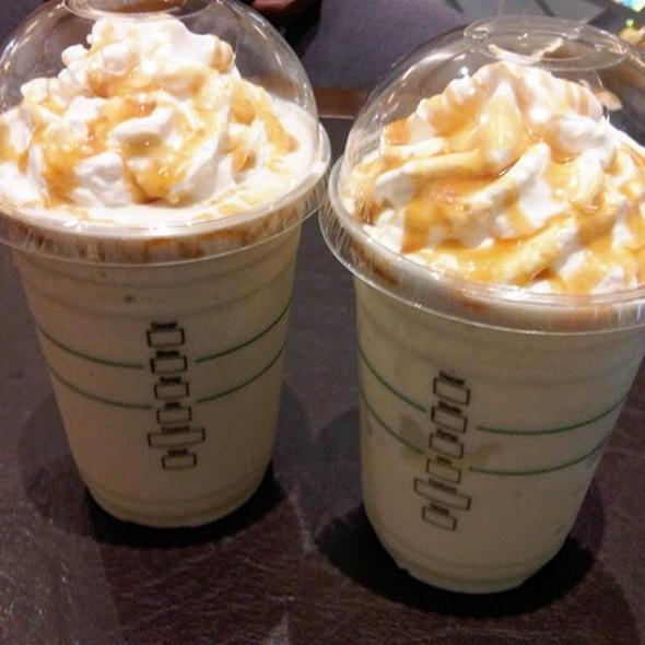 Caramel Popcorn Coffee Frappuccino