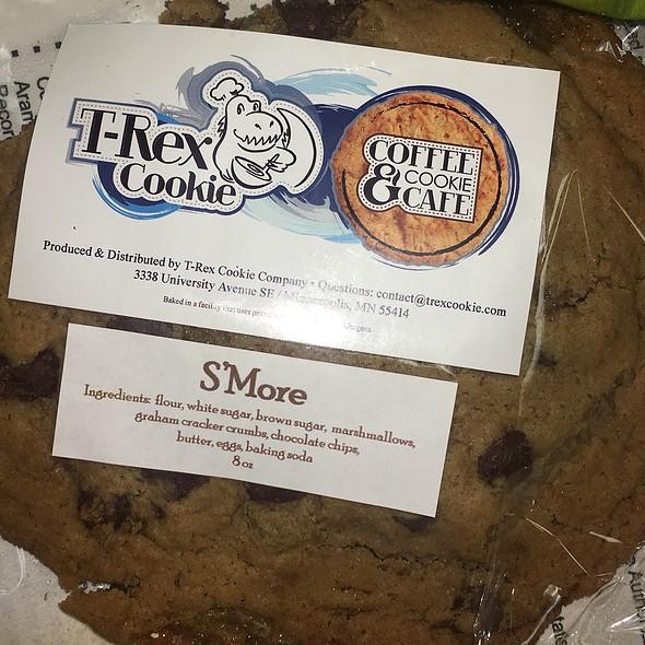 T Rex S'mores Cookies