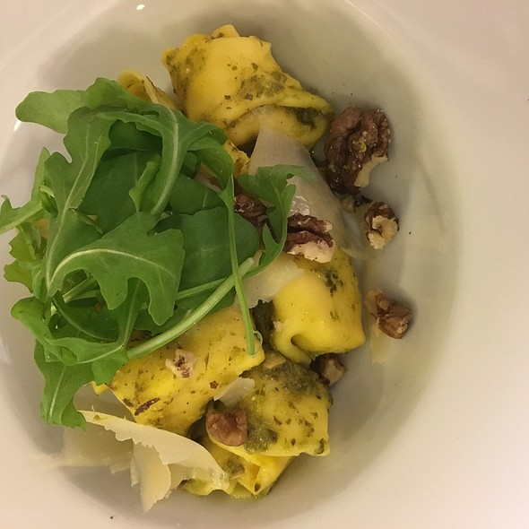 Butternut Squash Tortellini With Walnut And Rocket Pesto