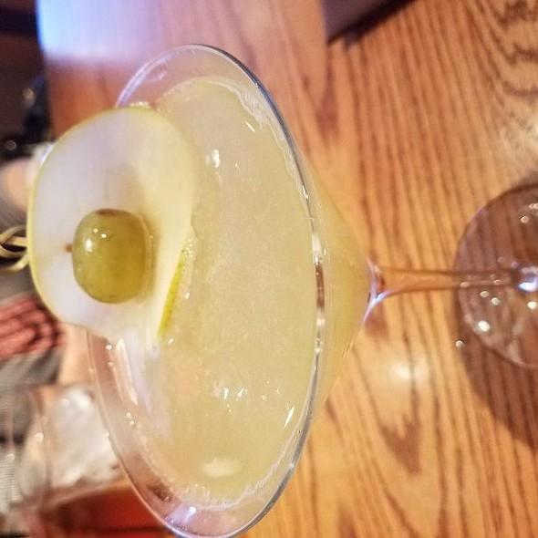 Pear Vodka Cocktail