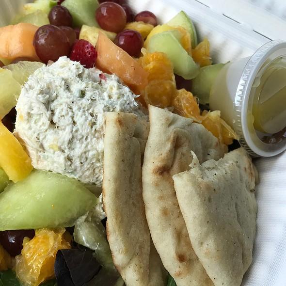 Chicken Salad & Fruit