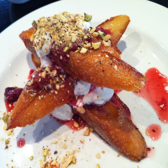 Syrian French Toast @ Gingerlee Cafe