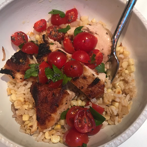 Chicken & Brown Butter Rice @ Blue Apron