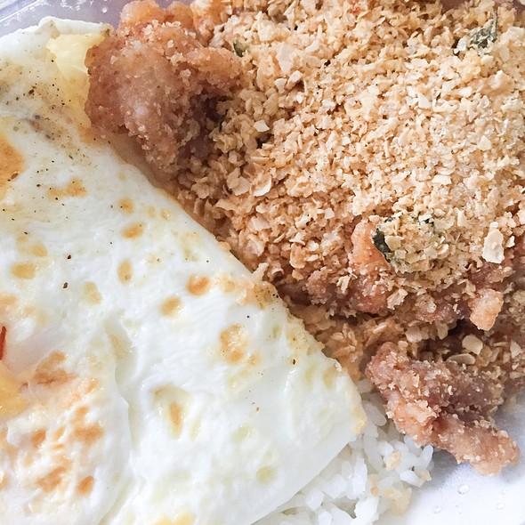 Cereal Chicken Rice @ Salty Sam, Kelapa Gading