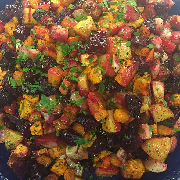 Roasted Root Vegetable Sa
