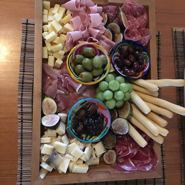 Italian Cheese And Charcuterie Board @ Chez Moi