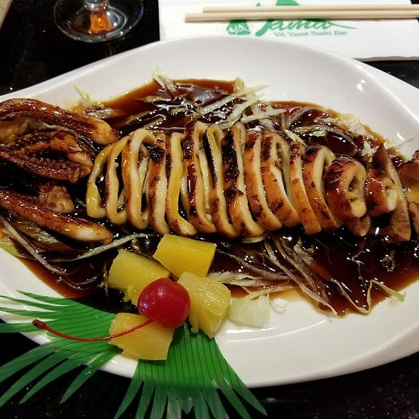 Squid! @ Va Yama Sushi Bar