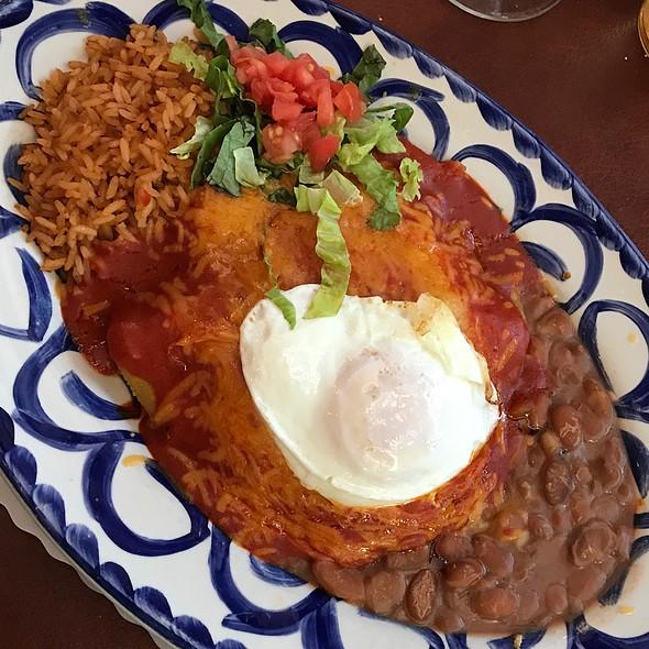 Chicken Enchiladas @ El Pinto Restaurant