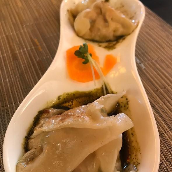 Dumplings in Chili Broth