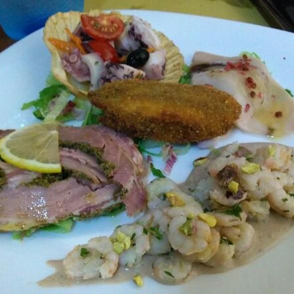 Mixed Fish Appetizer @ La Perla Nera