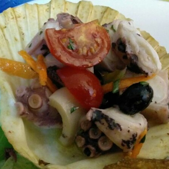 Octopus Salad @ La Perla Nera