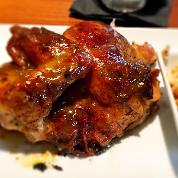 Pineapple Jalapeño Glazed Chicken @ Zea Rotisserie & Grill