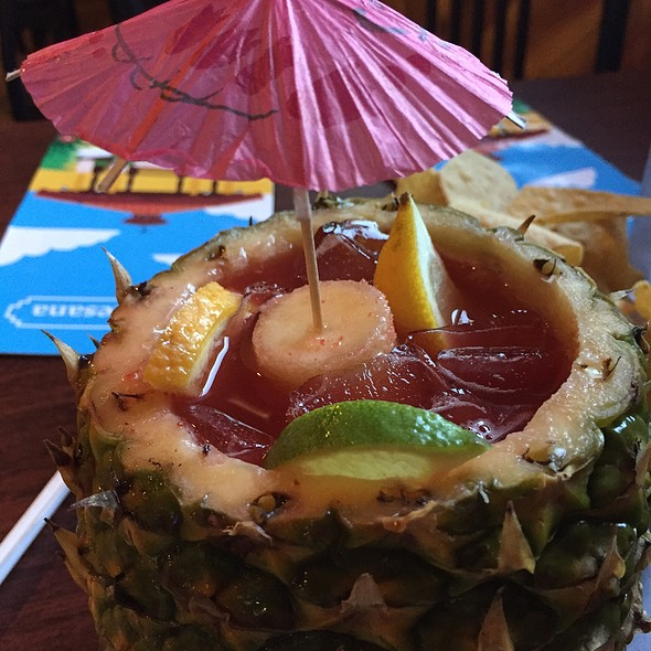 Tropical Fruit Margarita