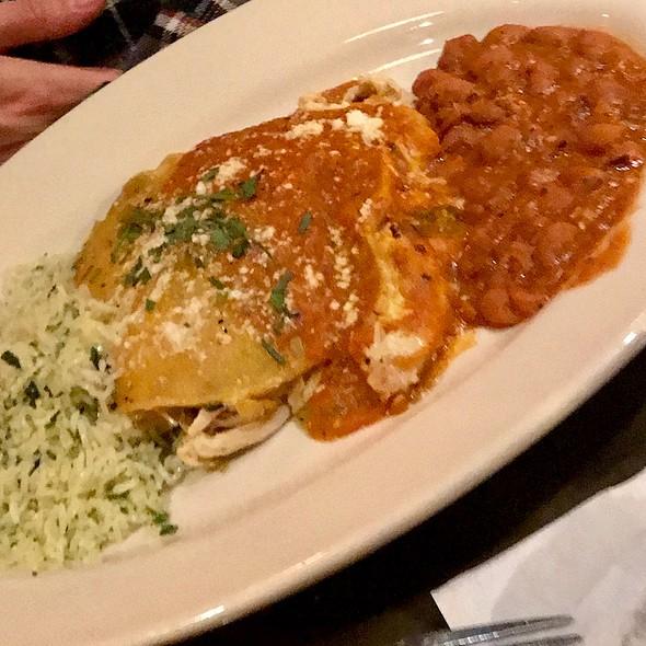 Chicken Enchilada Stack