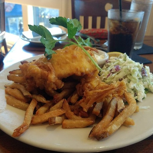 Fish and Chips @ Pier 77 Restaurant