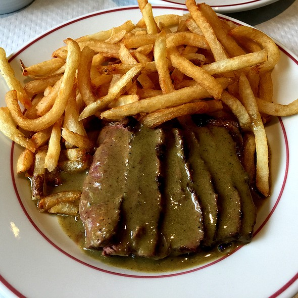 Steak Frites @ Le Relais de Venise L'Entrecote New York Soho