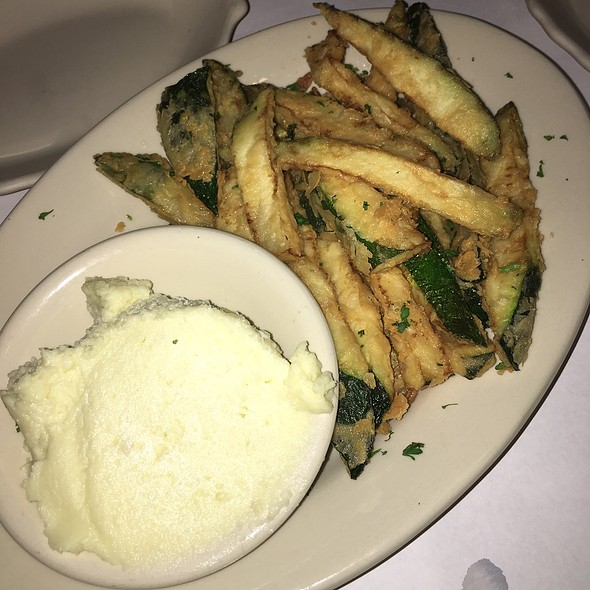 Fried Zucchini @ Greek Islands Taverna