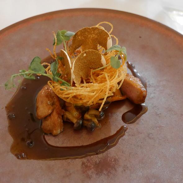 Quail, Mushrooms, Sahsho Pepper Sauce @ Nagaya