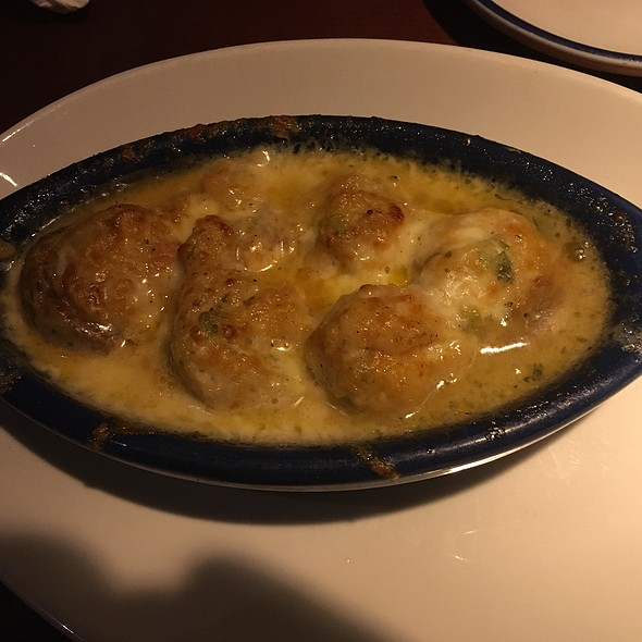 Seafood Stuffed Mushrooms @ Red Lobster