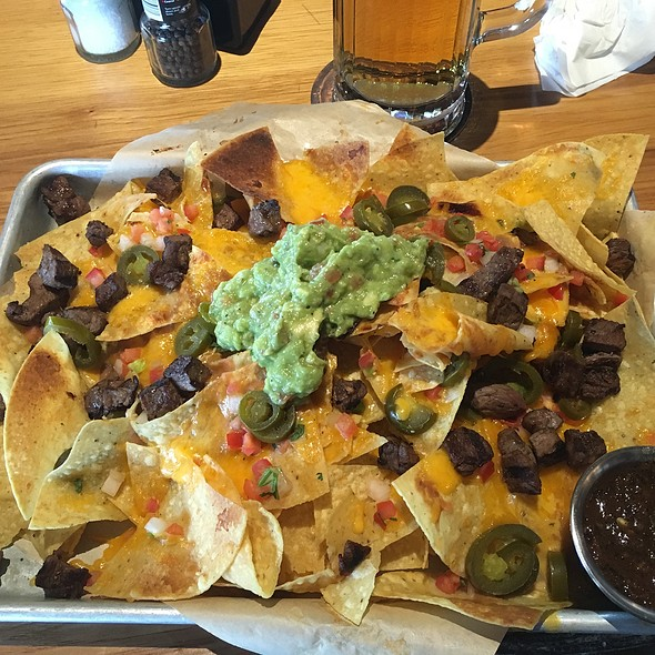 Double Stack Nachos @ Twin Peaks