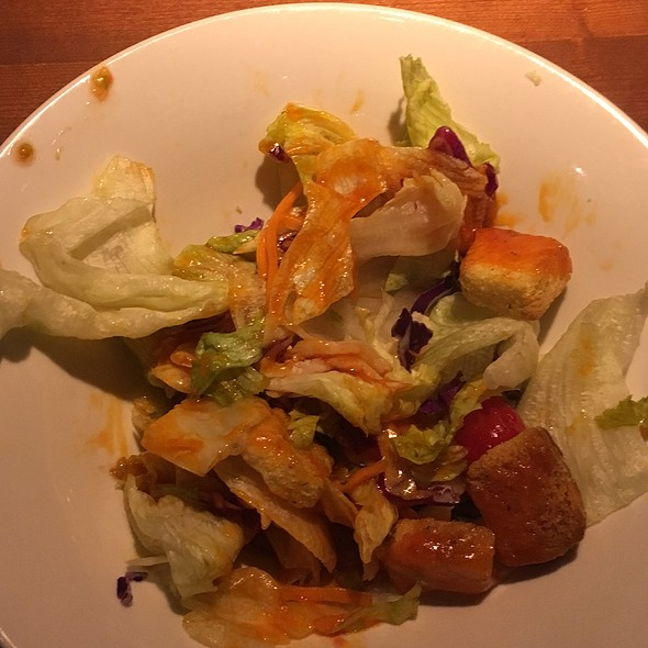 House Salad With French Dressing