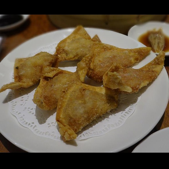 Deep Fried Shrimp And Pork Wantons @ Din Tai Fung - Raffles City